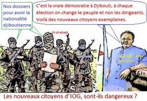 Djibouti/Somalie : Ismaël Omar Guelleh a officiellement octroyé la nationalité djiboutienne au colonel Abdourahman Aden Abdoulkader dans l'unique but de narguer les États-Unis.
