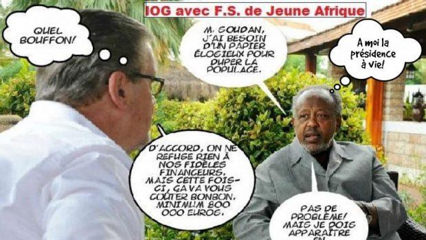 Djibouti : d'après Jeune Afrique, Ismaël Omar Guelleh est un bâtard ou un enfant adopté.