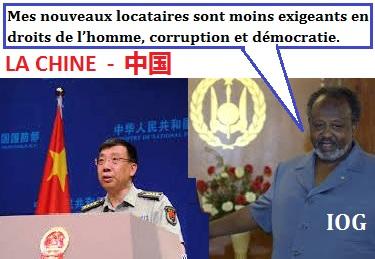 Djibouti/Chine : un échange volontaire d'une base navale militaire contre des avantages financiers et l'appui d'un régime pérenne à Djibouti.