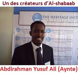 Abdirahman Yusuf Ali -dit Aynte - Al-shabaab