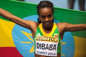 Genzebe Dibaba - ethiopie