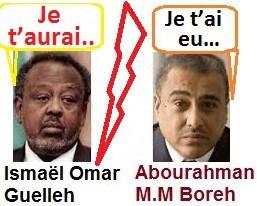 Djibouti : Des plaintes d'Ismaël Omar Guelleh pour faire barrage à la candidature d'Abdourahman Boreh pour 2021.