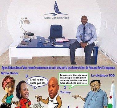 Djibouti : Tommy Tayoro Nyckoss, une personnalité pivot dans les blanchiments et le détournement d'avoirs publics à Djibouti.