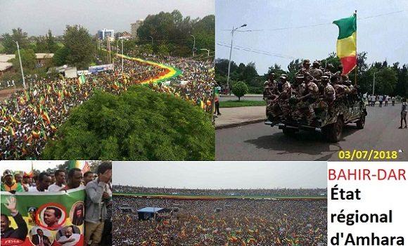Éthiopie : Un coup d'État militaire en cours dans la région Amhara de l'Éthiopie.