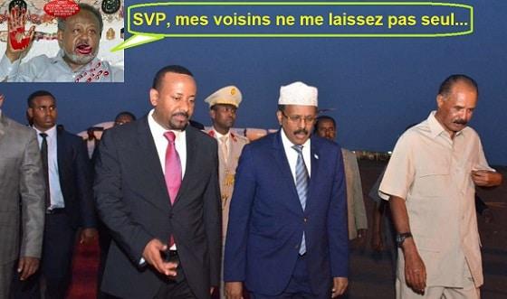 Afrique de l'Est : Le projet de la Confédération des états de la Corne de l'Afrique sans Djibouti.