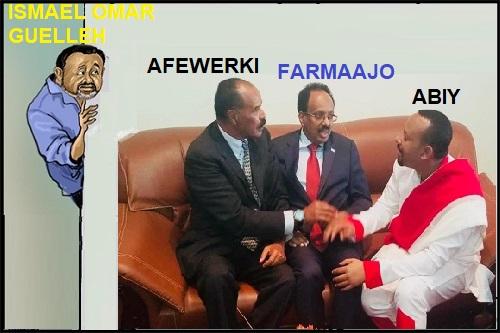 Djibouti/Somalie : La crise entre Ismaël Omar Guelleh et Mohamed Abdullahi Mohamed dit Farmaajo s'aggrave.