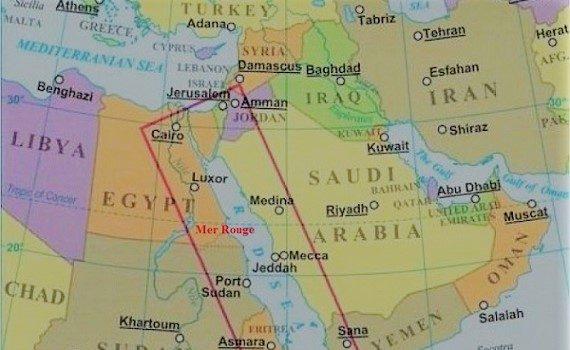 La Mer-Rouge : L'Arabie Saoudite veut barrer la route à l'Iran, la Turquie et la Chine avec des états riverains de la mer Rouge et du golfe d'Aden.
