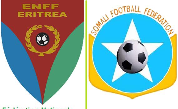 Érythrée / Somalie: Match de football des moins de 20 ans à Mogadiscio entre l'Érythrée et la Somalie.