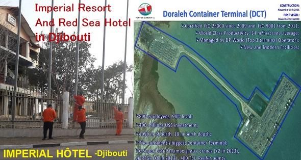 Djibouti / USA / Chine : Guelleh compte-t-il céder le Port de Doraleh pour 1 franc symbolique à la Chine comme l'hôtel Imperial ?