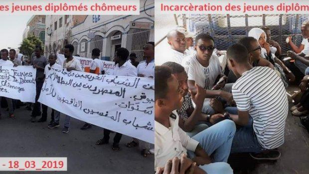 Djibouti : Guelleh incarcère des jeunes djiboutiens diplômés qui manifestaient contre la politique de chômage du régime quand le port Doraleh recrute des non-qualifiés de la Somaliland.