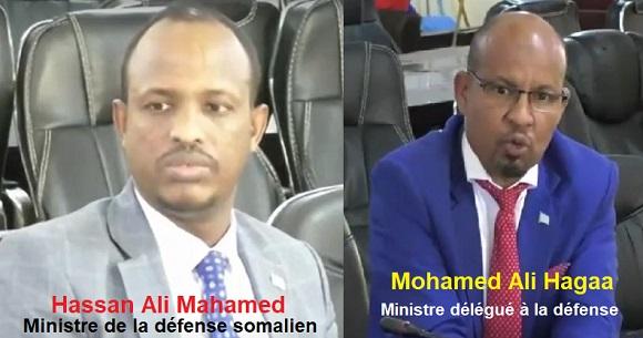 Somalie/Djibouti : le ministre délégué à la défense de la Somalie confirme que Djibouti livre des armes à Al-shabab.
