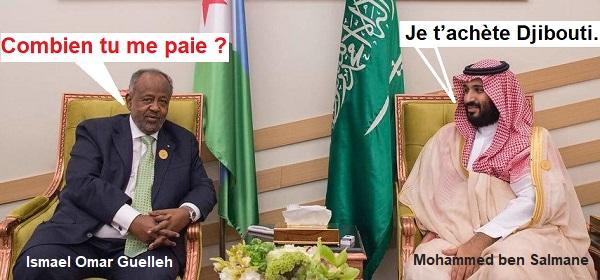 Djibouti / Arabie saoudite : L'ambassadeur Dya-eddine Saïd Bamakhrama met Djibouti sous tutorat saoudien en échange de cinq million de Dollars US.