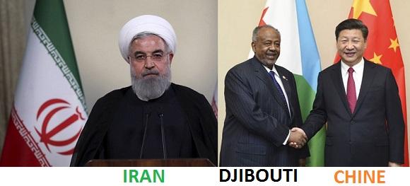 Djibouti/Iran : Ismaël Omar Guelleh paie en service les dettes importantes qu'il doit à l'Iran.
