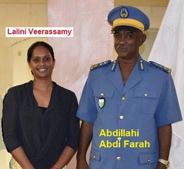 Djibouti/OIM : Mme Lalini Veerassamy est-elle l'amante du directeur général de la police nationale de Djibouti, Abdillahi Abdi Farah?