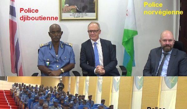 Djibouti/Norvège : Le directeur général de la police norvégienne a effectué une visite de travail à Djibouti.