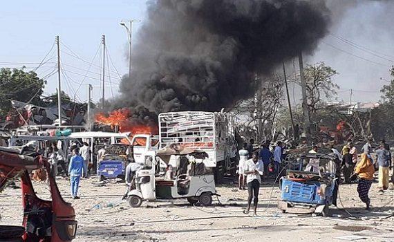 Somali : plus de 115 morts et 200 blessés à Mogadiscio suite l'attentat terroriste d'Al-shabab de ce samedi matin.