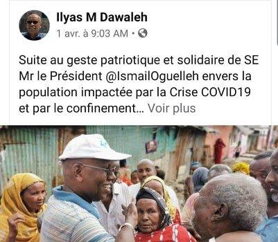 Djibouti/Coronavirus : Le 5 millions US de la Banque Mondiale détournée avant même d'avoir était versé au régime clanico-mafieux de Djibouti.