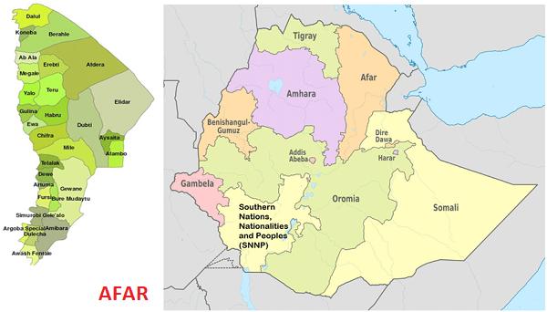 Éthiopie/Afar : Situation désespérée et dangereuse dans la région Afar!