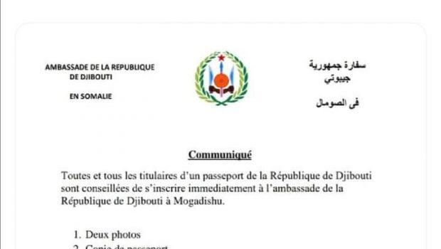 Djibouti/Somalie : Distribution officielle de la nationalité djiboutienne à Al-shabab à Mogadiscio